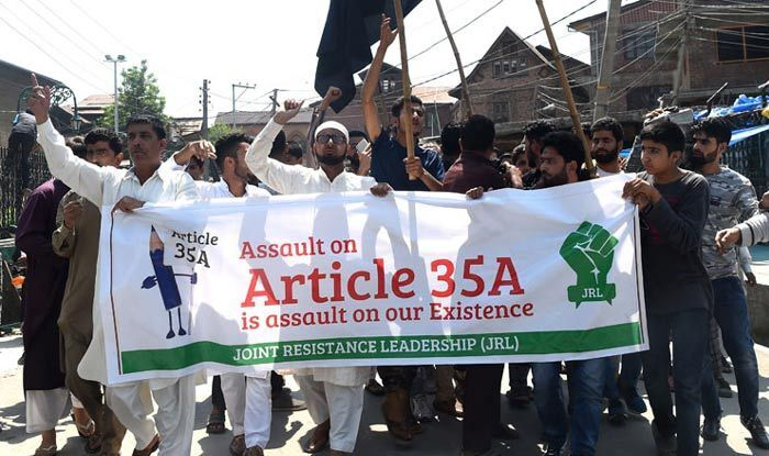 Article 35a, Interlocutor, jammu-and-kashmir, PM Narendra Modi, Mahbooba Mufti, Farooq Abdulaa, against-article-35a-supreme-court-adjourns-hearing-on-fresh-plea-for-scrapping-special-status