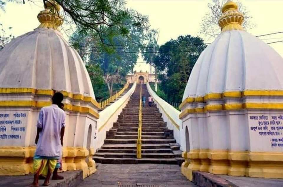 Guwahati, sacred Hindu and Buddhist pilgrimage, acred shrine, Manikuta hill, Hindu God Vishnu, Lord Vishnu, Lord Brahma, Buddhists, Dhoparguri Satra, Powa Mecca, Buddha, hayagriva-madhava-temple-situated-in-Hajo-Guwahati