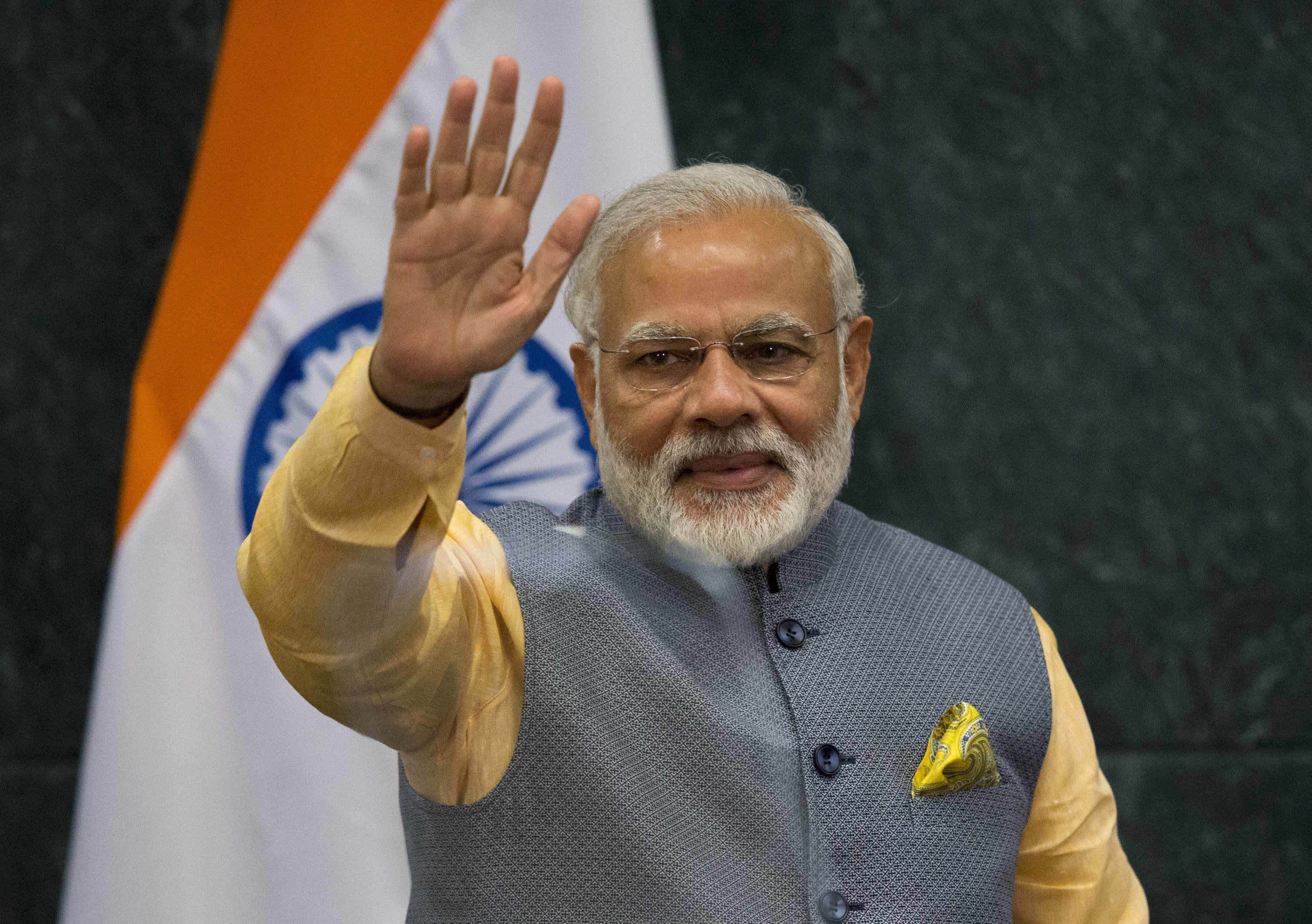 Narendra Modi Among Worlds Top Three Leaders