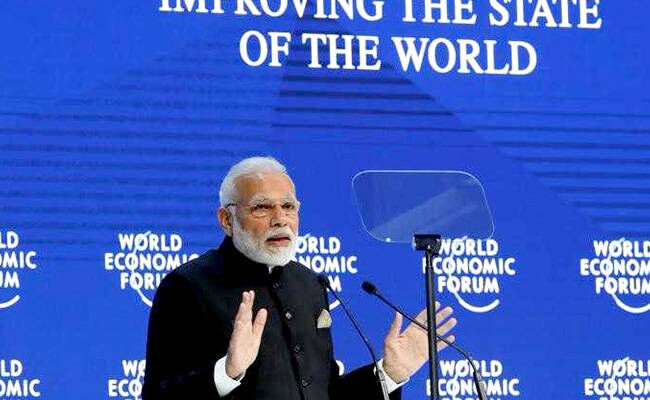 PM Modi tempted everyone with his unique style in Davos