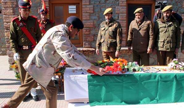 Tribute to martyrs of Srinagar attack