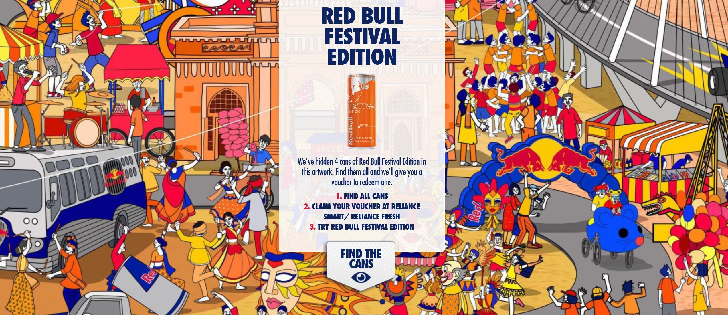 Red Bull India launches New Festival Edition With Orange Flavor
