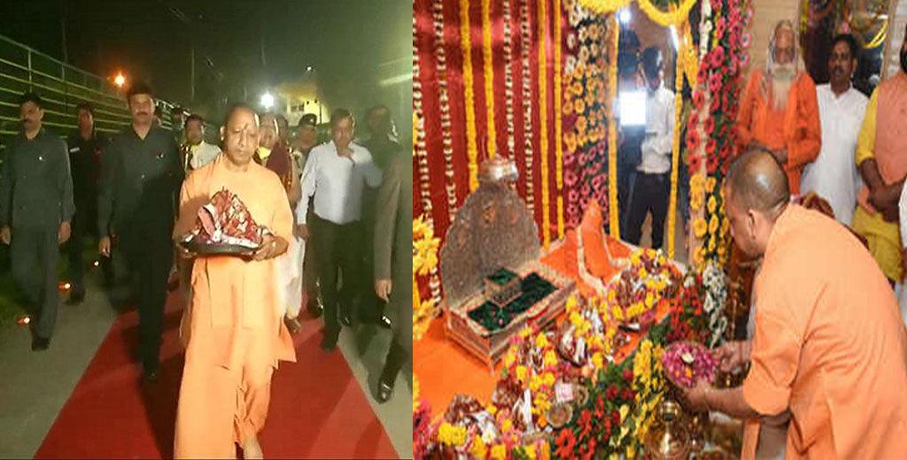 अयोध्या, श्रीराम जन्मभूमि, नवरात्रि, रामलला, मुख्यमंत्री योगी आदित्यनाथ, समाजवादी पार्टी, उत्तर प्रदेश कांग्रेस, आम आदमी पार्टी, ayodhya-ram-lalla-idol-shifted-to-temporary-structure-till-completion-of-temple-construction, Yogi Adityanath, Ram Mandir, Shri Ram Jamnbhumi,