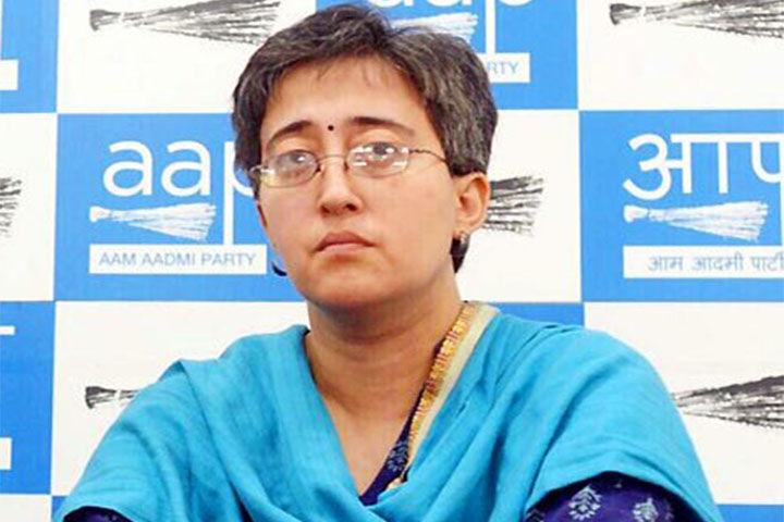 दिल्ली : कालकाजी से AAP की विधायक आतिशी मार्लेना Corona पॉजिटिव